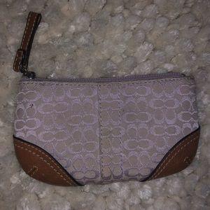 Coach coin purse wallet